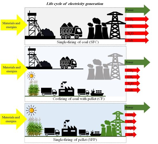 Production of sorghum pellets for electricity generation in Indonesia: A life cycle assessment